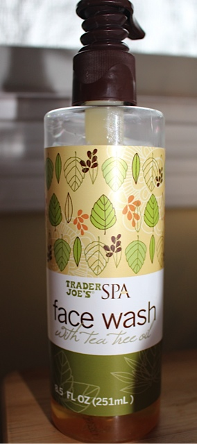 Trader-Joe's- Face-Wash-with-Tea-Tree-Oil-Review