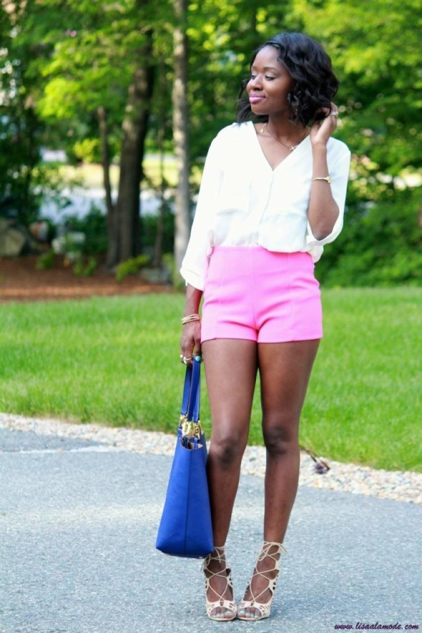 how-to-style-high-waist-shorts