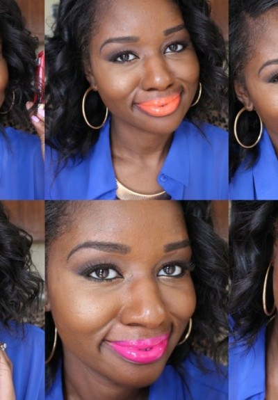 la girl glazed lip paint review
