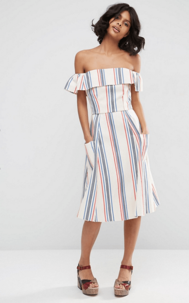 cheap-off-the-shoulder-dress