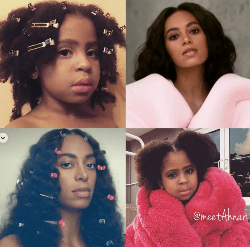 Little Girl PERFECTLY Channels Solange Knowles