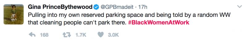 #BLACKWOMENATWORK-hasthag