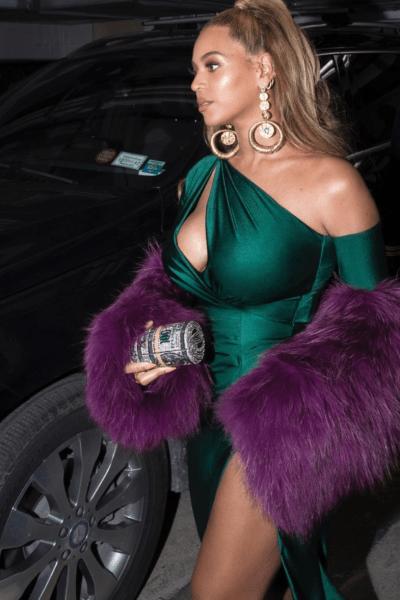 beyonce-green-dress-