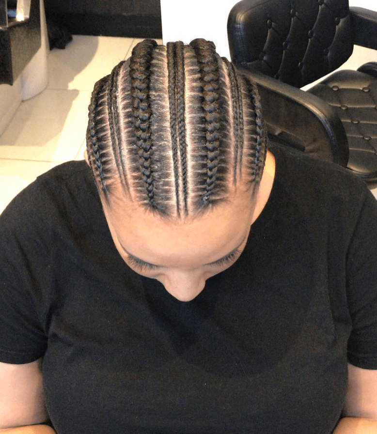 stitch feed-in braids