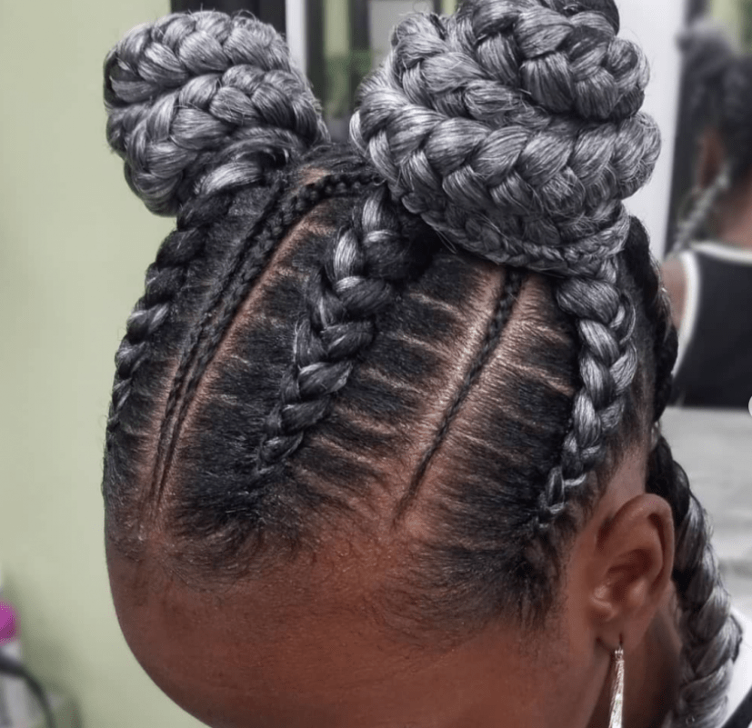 15 Glorious Examples Of Feed In Stitch Braids You May Want To Rock