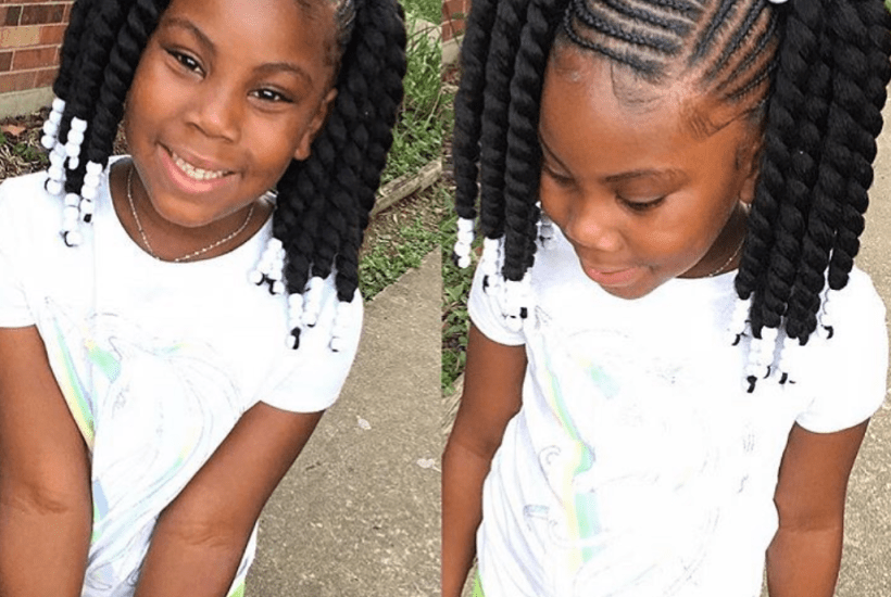 Braid Hairstyles For Little Girls With Natural Hair