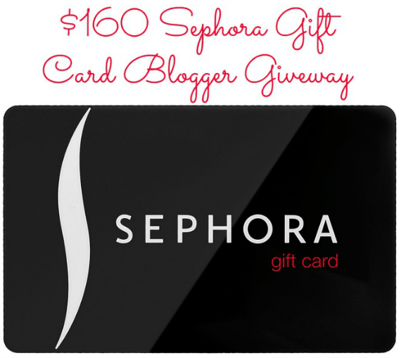SEPHORA Giftcard Giveaway!