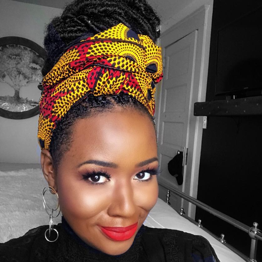 Holiday-Eyeshadow Tutorial For Dark Skin1