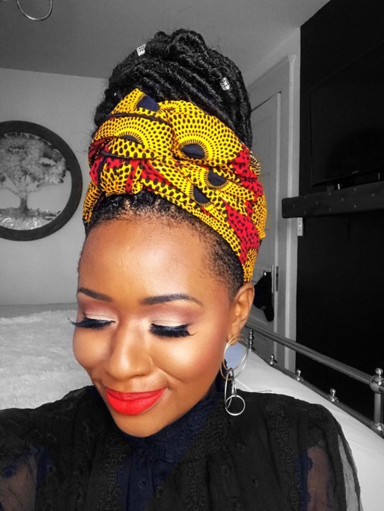 Super Easy Holiday-Inspired Eyeshadow Tutorial For Dark Skin1