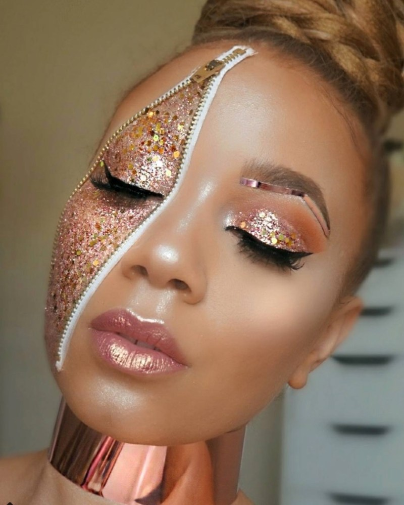 Meet The Black Makeup Artist Who Is KILLING The Game On IG