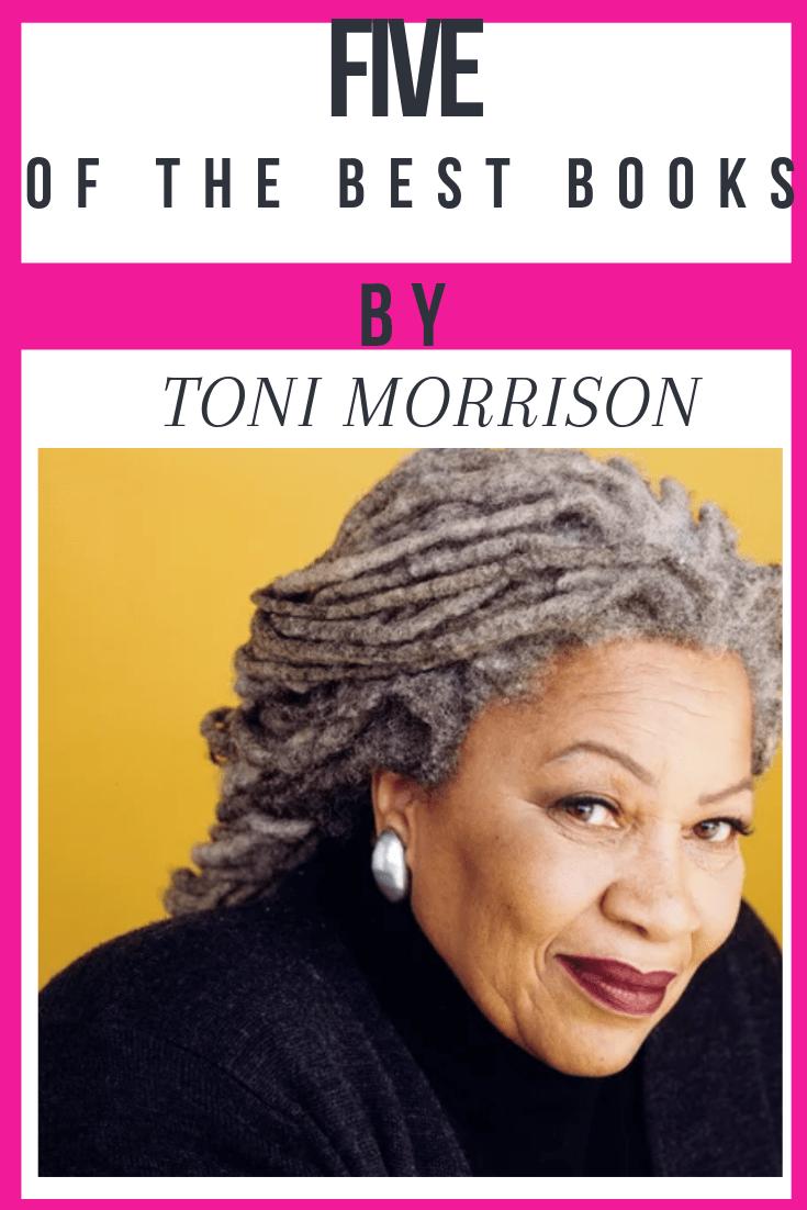 five toni morrison books
