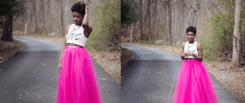 How to Wear a Tulle Skirt + Link Up
