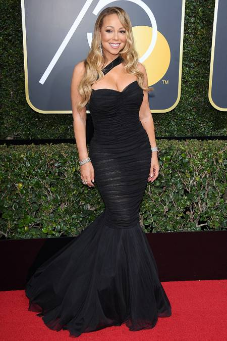 Mariah Carey-golden-globes-2018