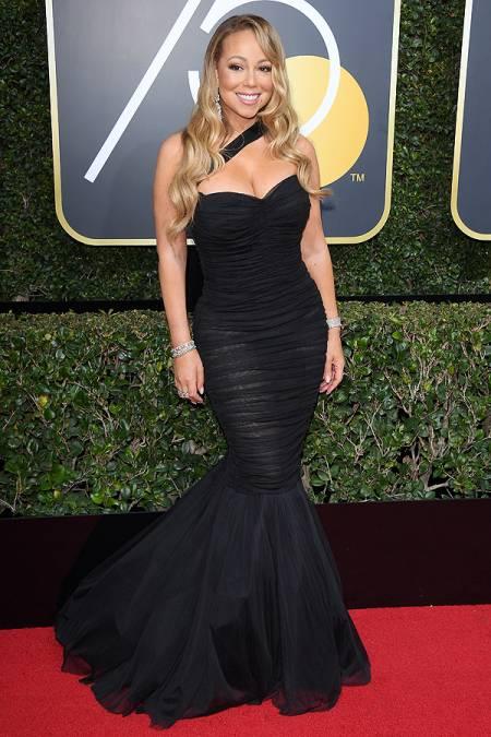 Mariah Carey-golden-globes-2018