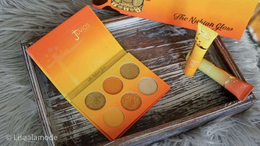 juvia's place nubian glow eyeshadow palette review