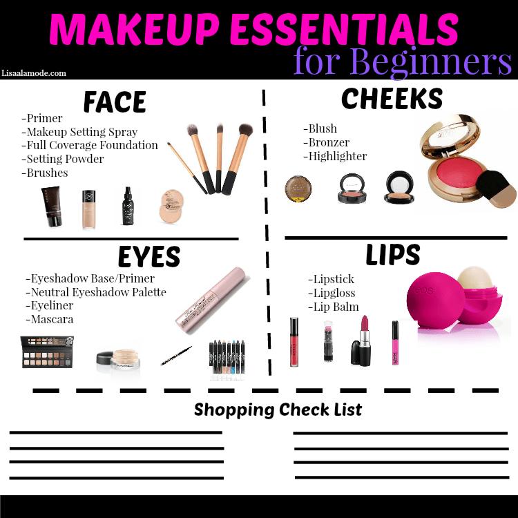 Makeup tutorial list