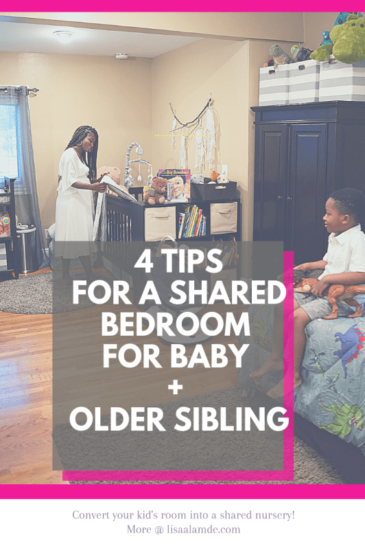sibling room sharing tips newborn