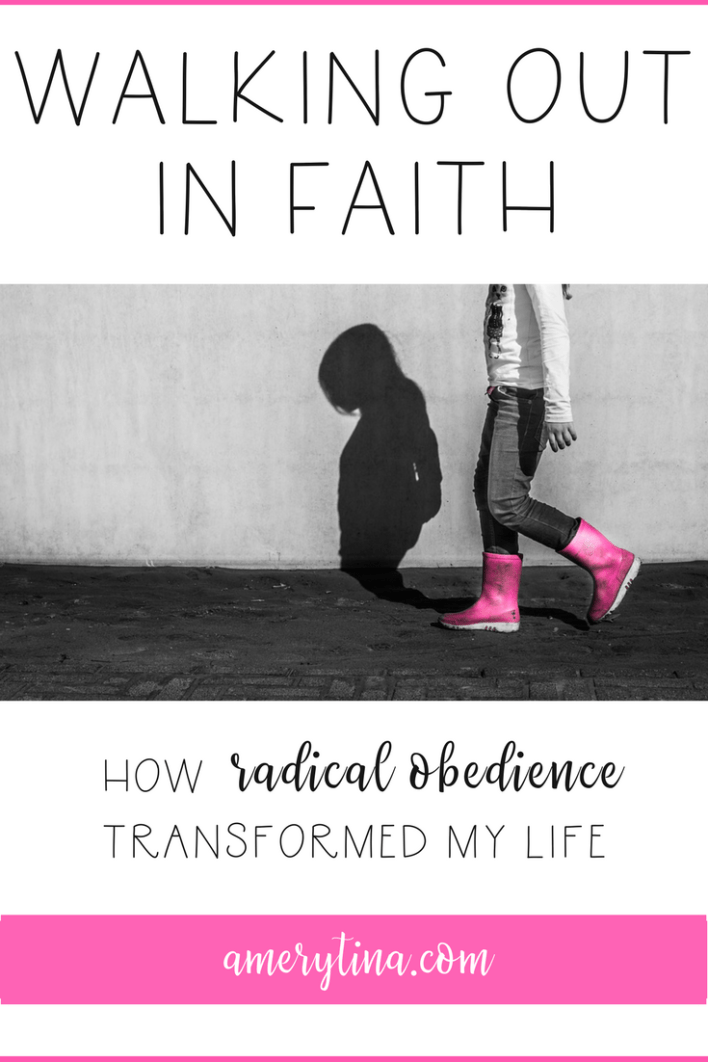 How radical obedience transformed my life