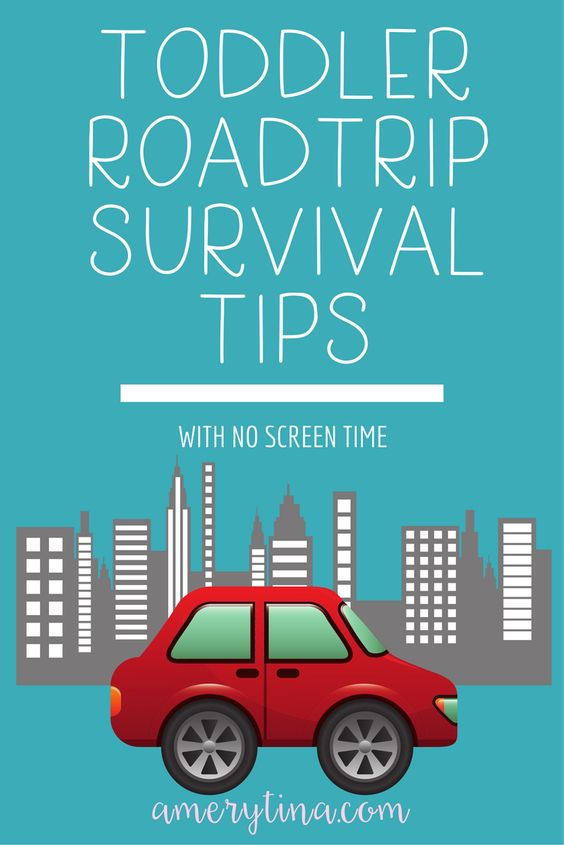 How to survive a road trip with a toddler | #roadtrip #travel #kids #todder