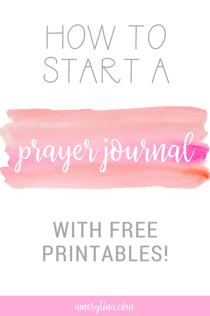photo about Printable Prayer Journals named How towards start off a prayer magazine (with absolutely free scripture printables!)