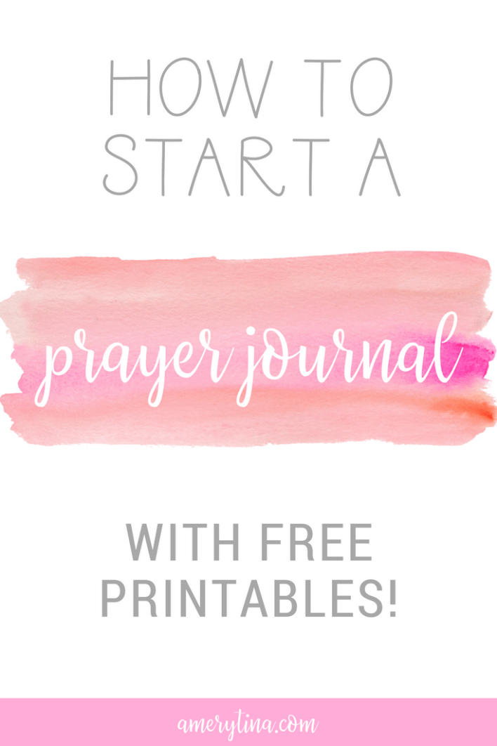 How to start a prayer journal, with some free printable scriptures! | lisaalfaro.com #pray #printable #journal