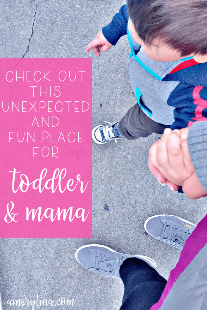 An unexpected and fun place to take your toddler | lisaalfaro.com #toddler #thingstodo #funforkids