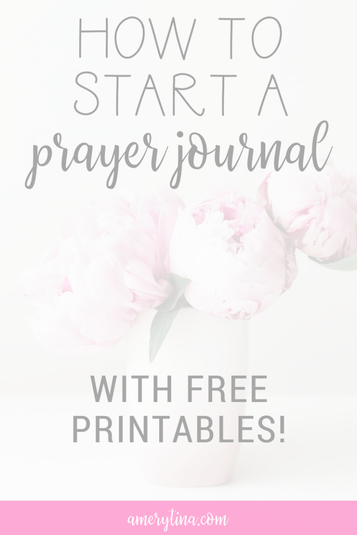 Free printables for your prayer journal | lisaalfaro.com #faith #printable #journal