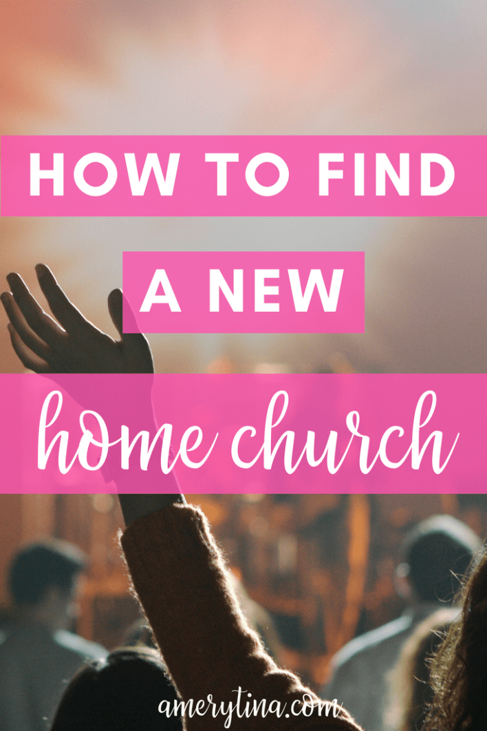 How to find a new home church #faith #church #believer #jesus #community #relocating #moving