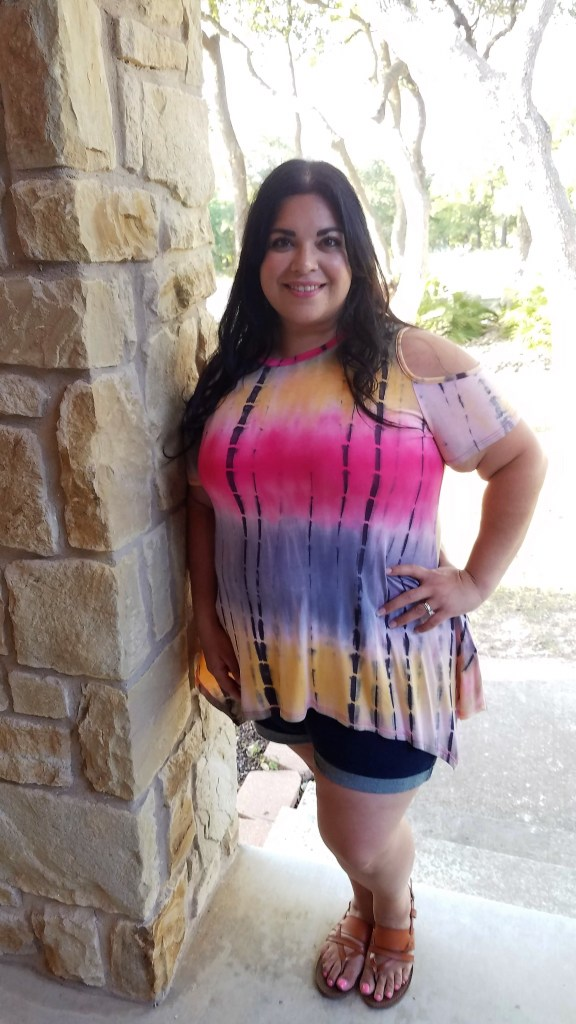 Plus size summer top