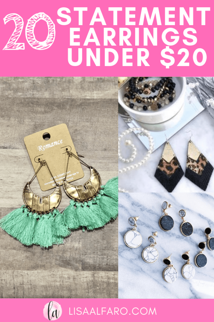20 earrings under $20, Boho statement feather leather tassle #fashionearrings #fashion #style #sale