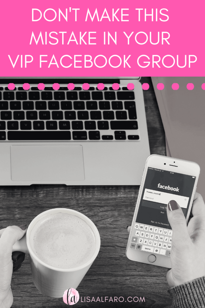 Don't make this simple mistake in your Facebook VIP Group #FBGroup #boutique #bossbabe #emaillist