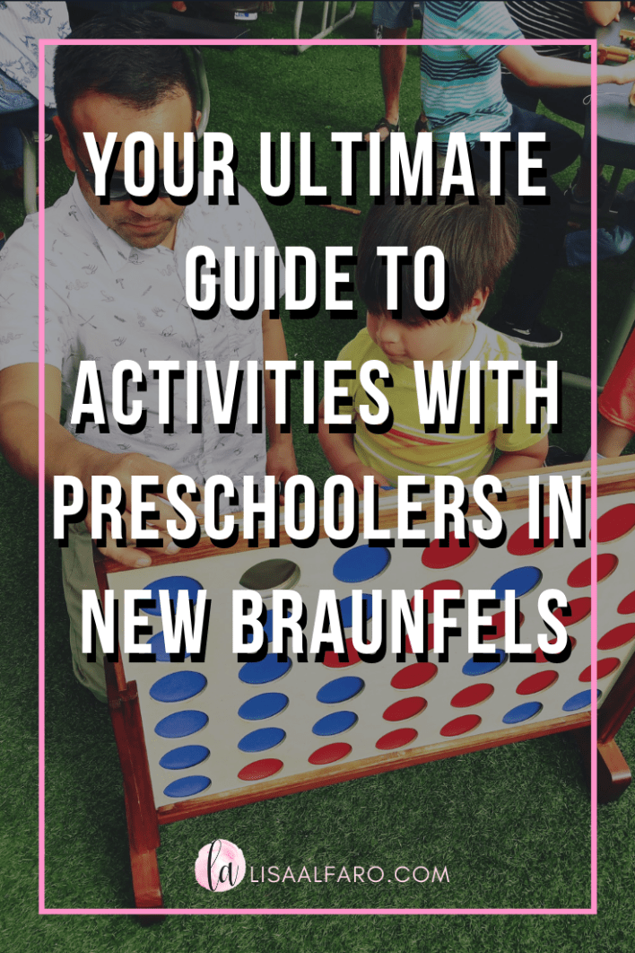 Ultimate guide to acitivies with preschoolers in New Braunfels #preschooler #toddler #newbraunfels #nbtx #texas #tx