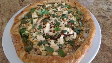 Finished Savory Galette