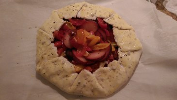 Galette stage one