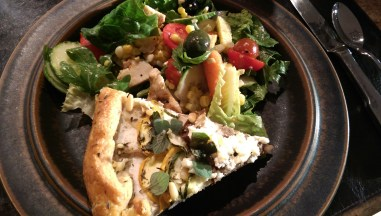 Savory Galette plated
