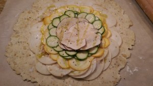 Savory Galette Stage 1