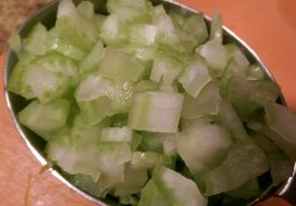 finely diced celery