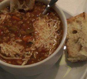 Italian Barley soup