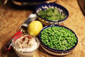 minty_pea_spread_1_ingredients