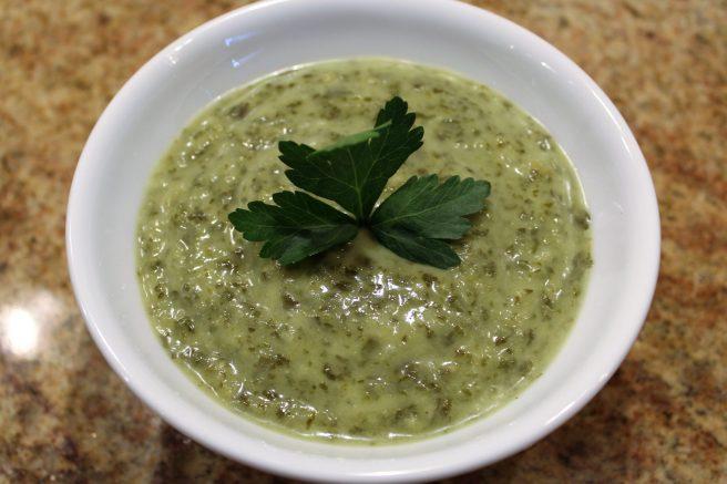 Parsley soup