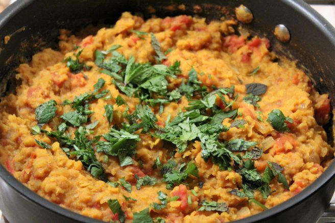 Red Lentils with Ginger1