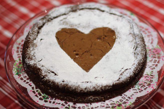 Chocolate Amaretti Cake