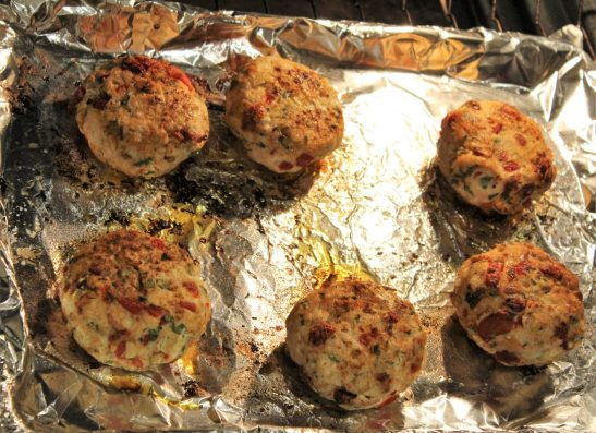 Mediterranean turkey burgers2