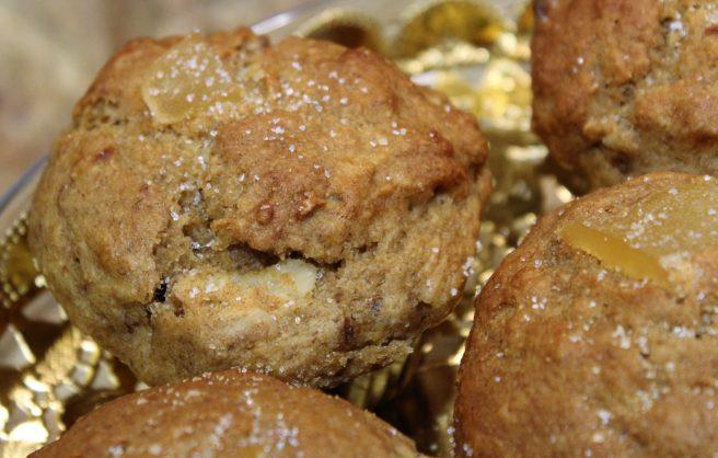 Vegan Banana Ginger Muffins7