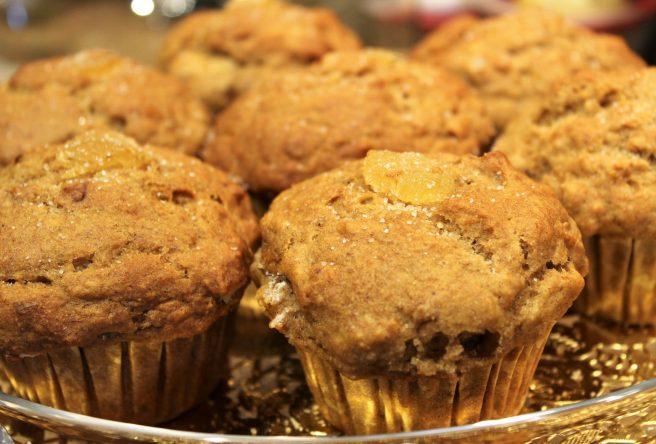 Vegan Banana Ginger Muffins8