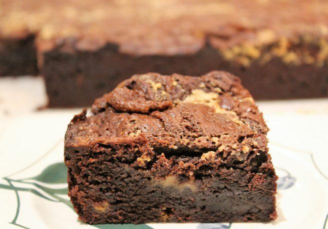 Tahini and Halva Brownies11