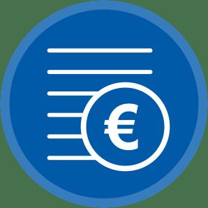 Financieel management module in Lisaas ERP software