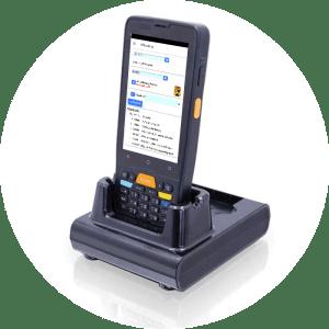 Voordelen van een barcodescanner, datalogic Memor K