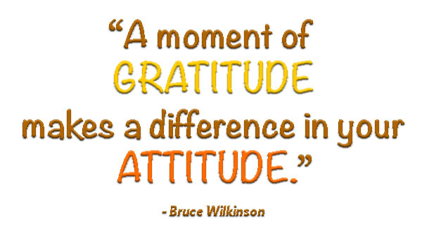 gratitudeattitudequote