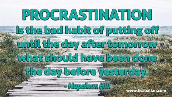 procrastinationquote
